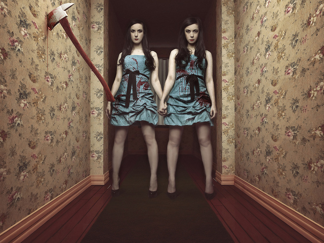 Canadian horror film makers Jen and Sylvia Soska of Twisted Twins Productions