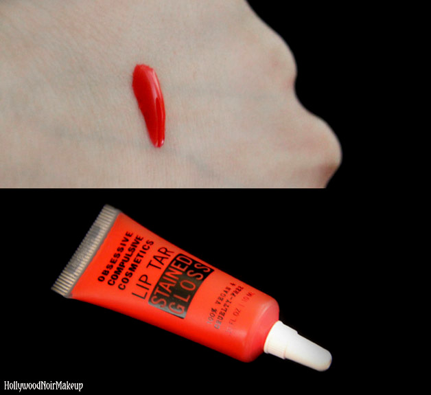 Obsessive Compulsive Cosmetics Stained Gloss Swatch in Jealous