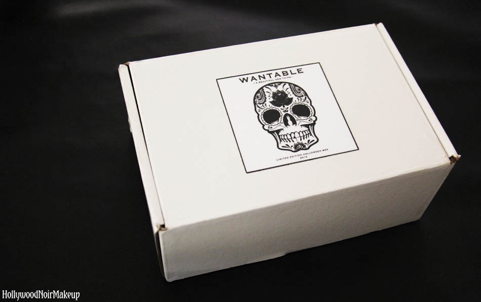 Wantable Limited Edition Halloween Beauty Box