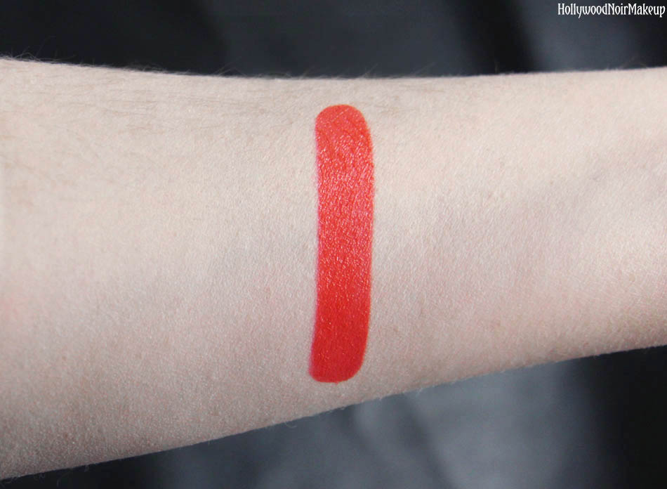 CineCitta Arancione Lipstick Swatch in #27