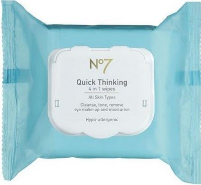 No. 7 Quick Thinking 4-in-1 Cosmetic Wipes