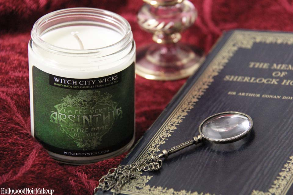 Witch City Wicks Absinthe Candle