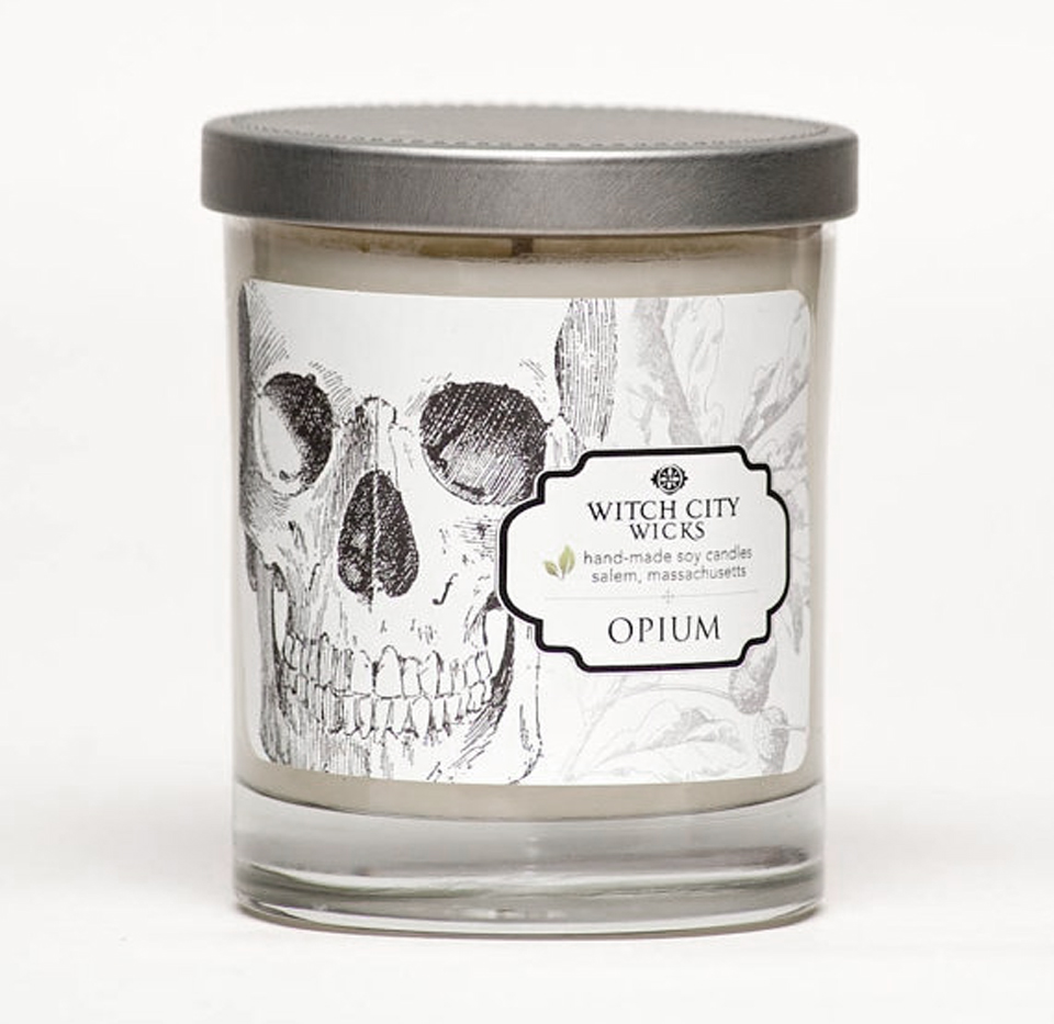 Witch City Wicks Oddities Collection Candle in Opium