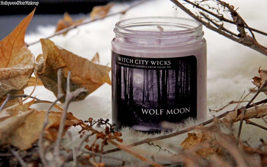 Witchj City Wicks Wolf Moon Candle From The House Of Wax Collection
