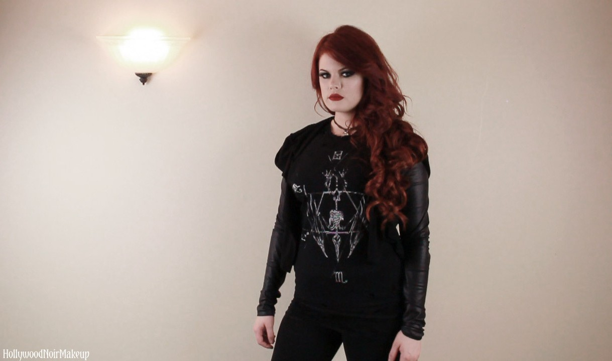 SOVRIN Apparel Alternative Goth Outfit of the Day
