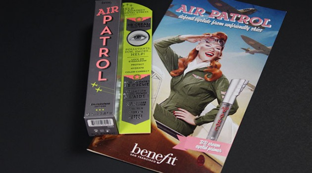 Product Review and Swatches: Benefit Cosmetics Air Patrol BB Eyelid Primer