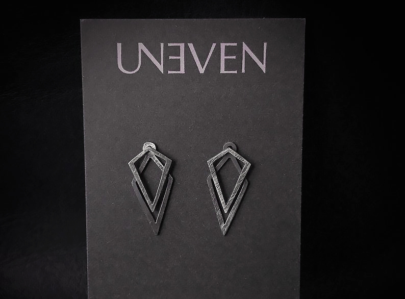 Uneven Creations Geometric Ear Jacket