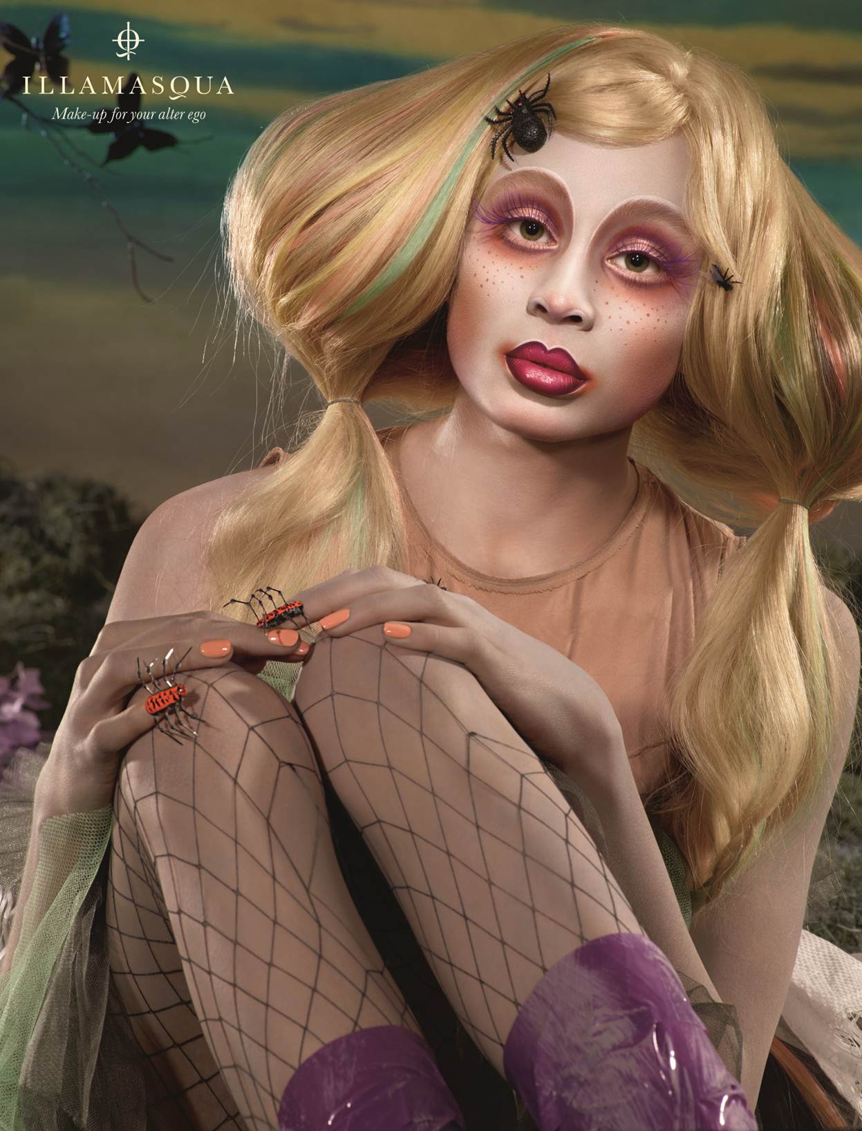 Illamasqua Toxic Nature Collection for Spring/Summer 2011